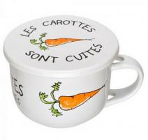 Bol avec couvercle les carottes sont cuites, La Chaise Longue