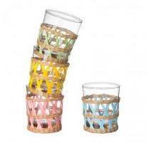 Coffret 4 verres Cancun, La Chaise Longue