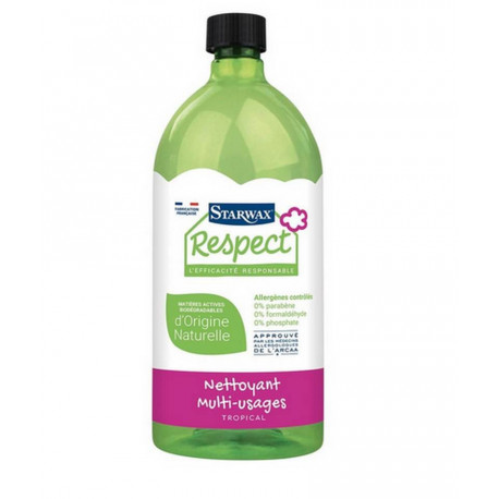 Nettoyant multi-usages Respect 1 litres, Starwax