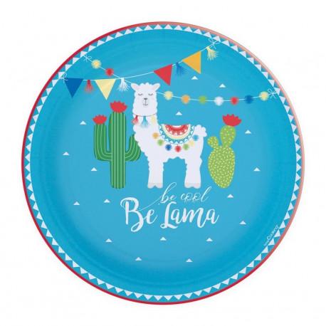 8 Assiettes Lama, ScrapCooking Party