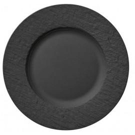 Assiette plate Manufacture Rock, Villeroy & Boch