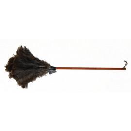 Plumeau en plumes d'autruche 90cm, Redecker