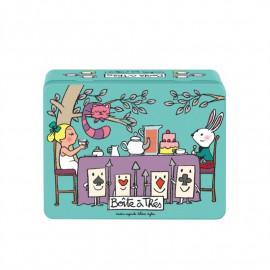 Boîte à thés Chacun sa tasse, Derrière la porte