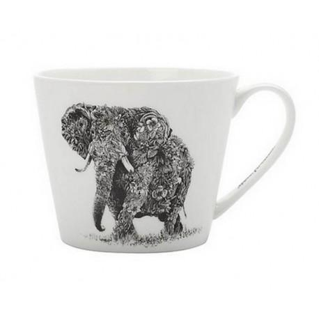 Tasse déjeuner éléphant Ferlazzo, Bruno Evrard