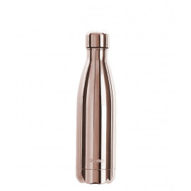 Bouteille isotherme Rose Gold Metallic 500ml, Qwetch