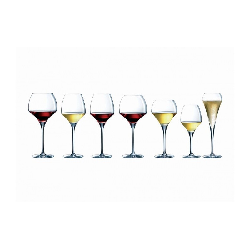 verre d gustation 37 cl open up en kwarx chef et sommelier