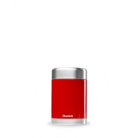 Boîte repas et soupe isotherme rouge, Qwetch