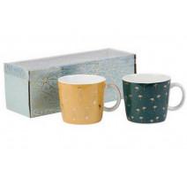 Coffret 2 tasses à thé Cocodélice, Sema Design