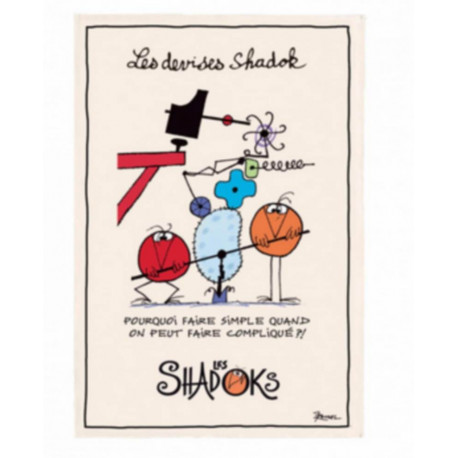 "Torchon les Shadoks "" Pourquoi faire simple "", Winkler"
