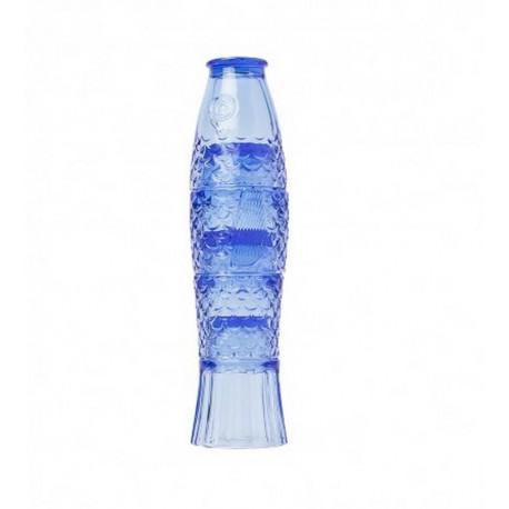 Set 4 verres poisson bleu, Doiy Design