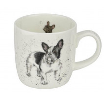 Mug bouledogue français, Wrendale Design