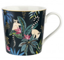 Mug lémuriens collection Tahiti, Sara Miller London