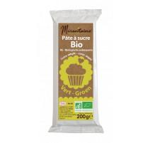 Pâte à sucre Bio Vert 200g, Mirontaine