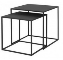 Ensemble 2 tables d'appoint Fera, Blomus