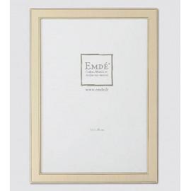 Cadre métal doré brossé 13x18 cm, Emde