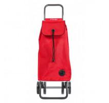 Poussette de marché pliable 4 roues I-Max rouge, Rolser