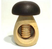 Casse-noix champignon en bois, Roger Orfèvre