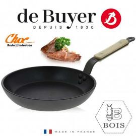 Poêle Choc Resto B Bois Induction, De Buyer