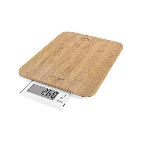 Balance culinaire Bambou 10kg Green Power USB, Little Balance