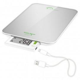 Balance culinaire Silver 6kg Green Power USB, Little Balance