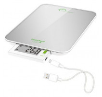 Balance culinaire Silver 6kg Green Power USB, Little Balance