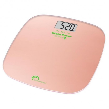 Pèse-personne Green Power IMC rose, Little Balance