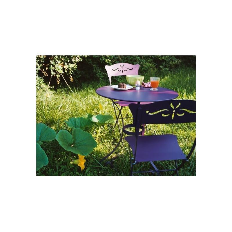 Achat chaise de jardin bagatelle fermob fauteuils for Gaziniere exterieur