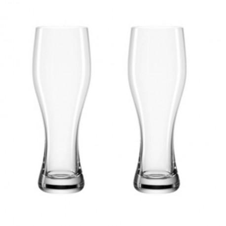 Coffret de 2 verres à bière 33cl Taverna, Léonardo