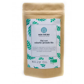 Thé vert Rhubarbe-grenade Bio, Mon Thé Bio