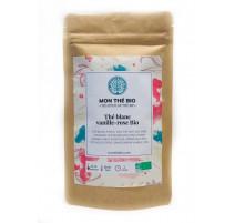 Thé blanc Vanille-rose Bio, Mon Thé Bio