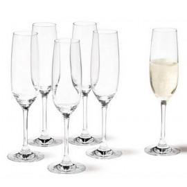 Coffret 6 flûtes à champagne Ciao+, Léonardo