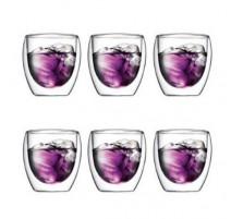 6 verres Pavina 25cl Bodum