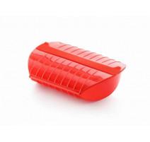 Papillote silicone avec filtre 3-4 personnes rouge, Lékué