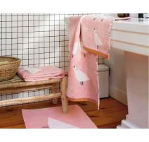 Serviette éponge Lintu Blush, Scion Design