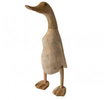 Canard en bois et teck, Le comptoir du meuble