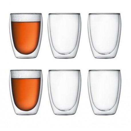 6 verres Pavina 35cl Bodum