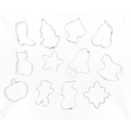 Découpe pâte assorti par 12