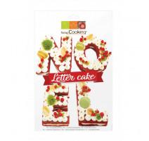 Kit Letter cake Noël, ScrapCooking