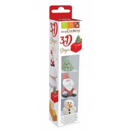 Décosucres 3D Noël, Scrapcooking