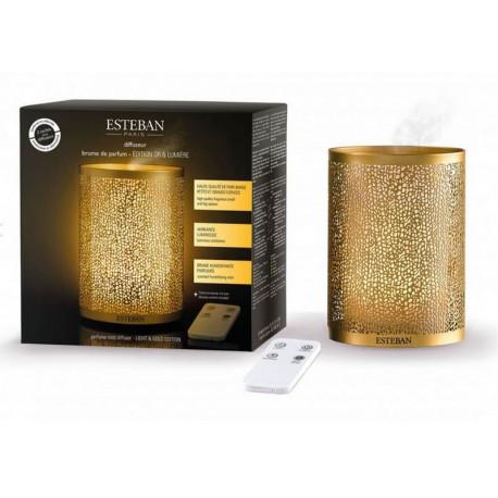 Diffuseur brume Edition limitée Or & Lumière, Esteban