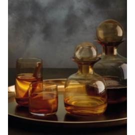 Carafe 0.75L colorée en verre soufflé, Asa Sélection