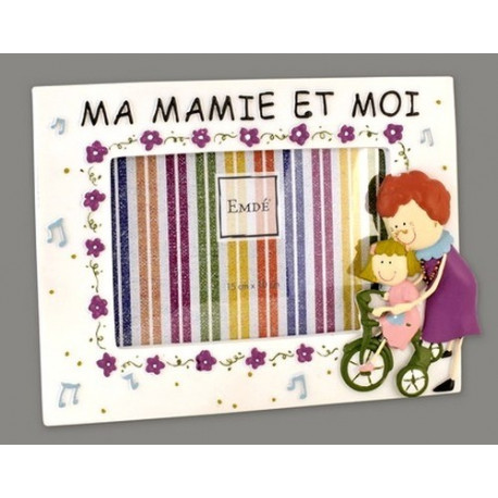 Cadre ma mamie et moi (version fille) 480MAMIFT15