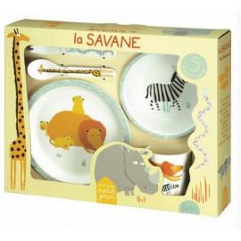 Coffret 5 pièces collection La Savane, Petit jour Paris