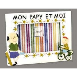 Cadre mon papy et moi (version garçon) 480PAPIGT15