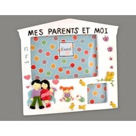 Cadre Mes parents et moi(version fille) 480PAREFT00