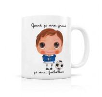 Mug Footballeur, Isabelle kessedjian