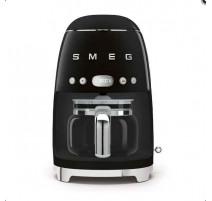 Cafetière filtre programmable Années 50 noir, SMEG