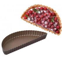 Moule demi-tarte cannelé, GOBEL