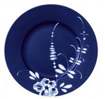 Assiette dessert bleue Vieux Luxembourg Brindille, Villeroy & Boch