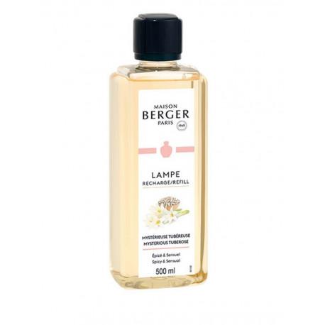 Parfum Mystérieuse Tubéreuse 500 ml, Lampe Berger